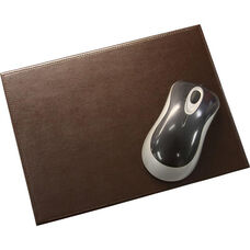 Bonded Leather Mouse Pad - Dark Brown