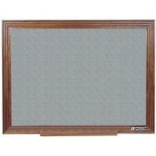 114 Series Wood Frame Tackboard - Claridge Cork - 72