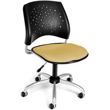 Stars Swivel Chair - Golden Flax