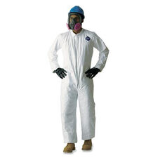 Dupont TY120 Tyvek Coveralls - Large