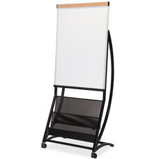 Lorell Dry-erase Board Magazine Stand