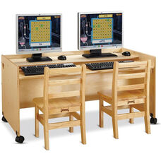 Enterprise Computer Desks - Double Desk