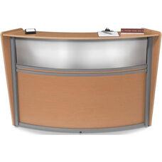Marque Plexi Single Reception Station - Maple