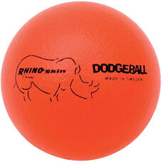 Rhino Skin Dodgeball Set Low Bounce in Neon Orange