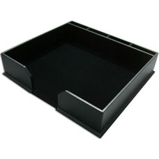 Classic Leatherette Conference Pad Holder - Black