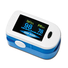 Compact DigiOx Finger Pulse Oximeter with Large LCD Screen