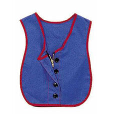 Combo Zipper / Button Vest - 17.5