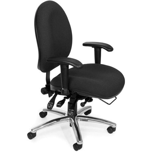 Our 24 Hour Big & Tall Computer Task Chair - Black is on sale now.