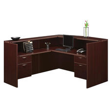 Fairplex Right or Left Reception Desk with .75 Peds