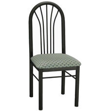 Metal Fan Back Chair