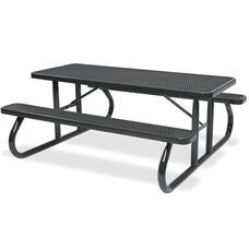 Signature Diamond Patterned Picnic Table - 6