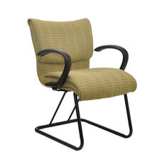 Saddle 300 Series Armless Guest Chair with Cantilever Base