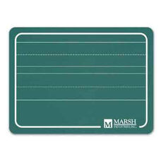 Green Writing Chalkboard Lapboard with Lines - 12