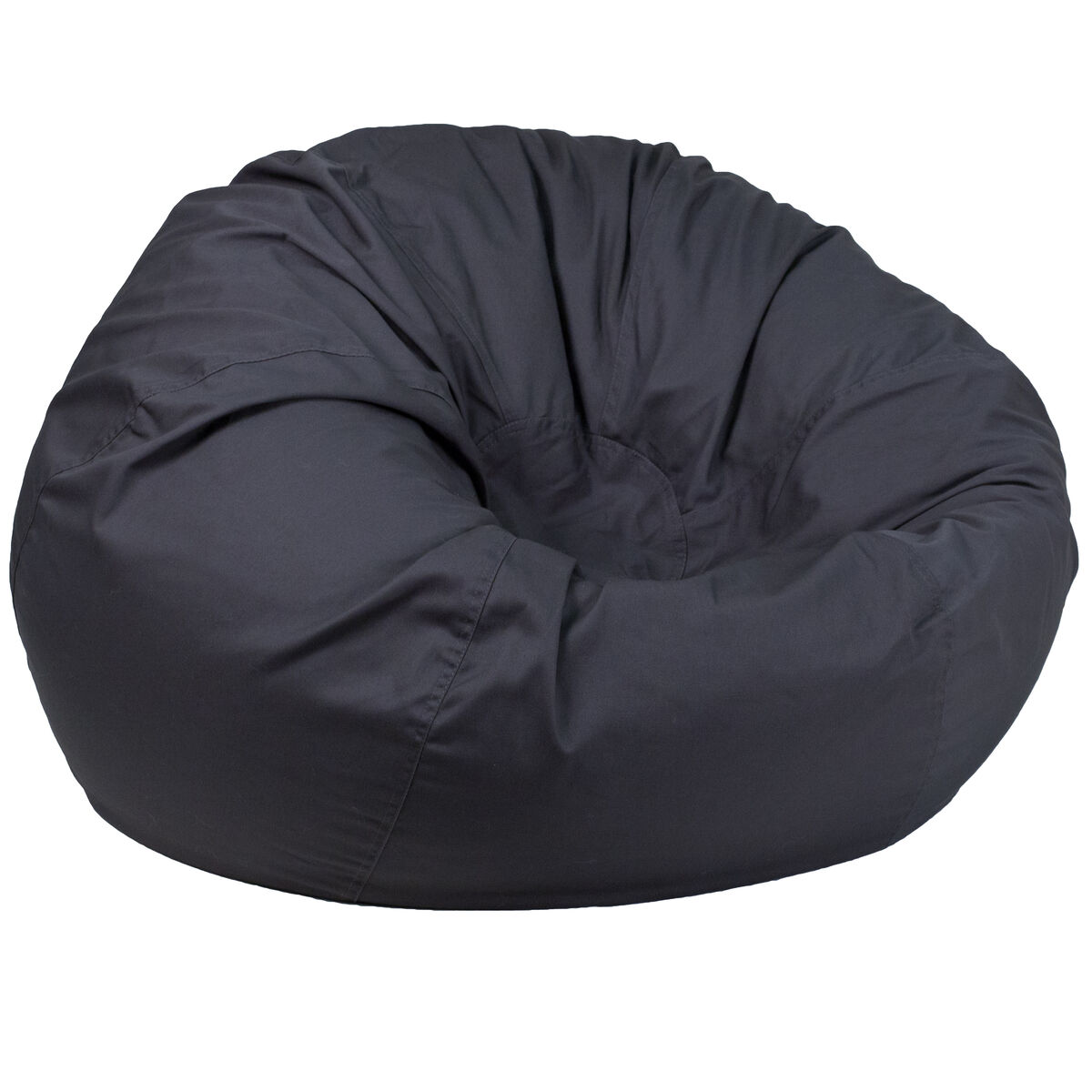 Our Oversized Solid Gray Bean Bag Chair Is On Now