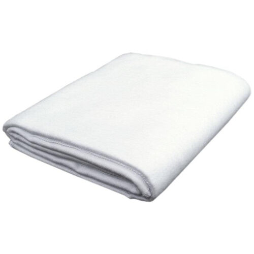 Our White Cotton Flannel Blanket - 58