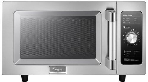 Our Midea Stainless Steel 1000 Watt Commercial Grade Microwave with Dial Timer is on sale now.