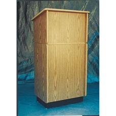 323 Series Wooden Convertible Lectern - Oak Laminate - 24