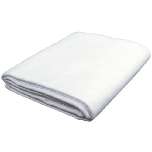 White Cotton Flannel Blanket - 40