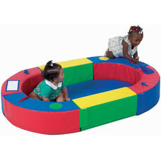 Multicolor Elliptical Soft Play Ring