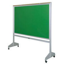 Deluxe Double Sided Mobile Green Chalkboard - 75.5