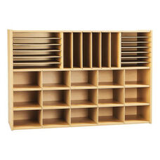 Young Time® Sectional Cubby Storage Unit without Trays