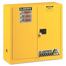 Justrite 2-Door Flammable Liquids Cabinet