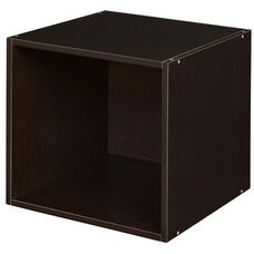 Niche Cubo Stackable Wooden Storage Cube - Truffle