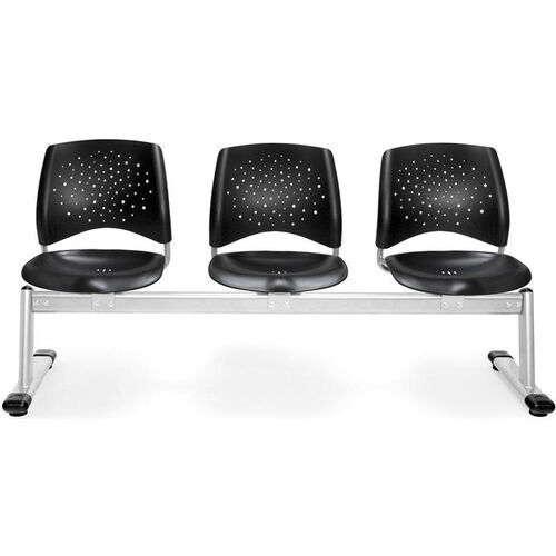 Our Stars 3-Beam Seating with 3 Plastic Seats is on sale now.