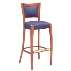 785 Bar Stool w/ Upholstered Back & Seat - Grade 1