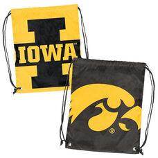 University of Iowa Team Logo Doubleheader Drawstring Backsack