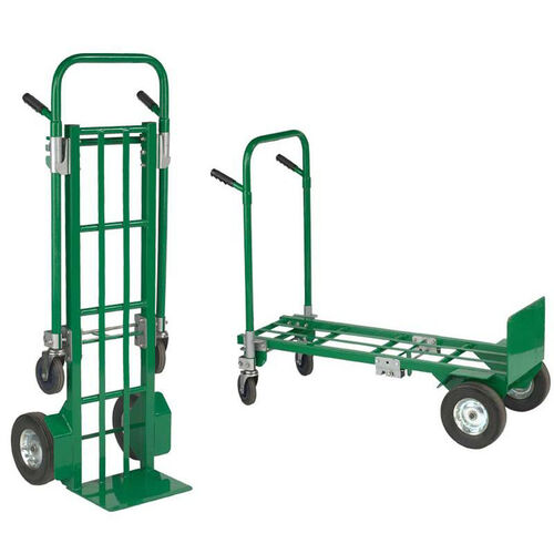 Our Greenline Two-In-One E-Convertible Steel Hand Truck is on sale now.