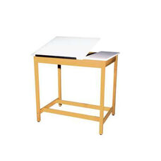 Split Top Drawing and Drafting Table