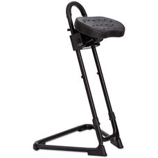 Alera Plus™ SS Series Sit or Stand Height-Adjustable Stool - Black