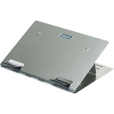 Aluminum Portable Ultrabook Stand with Neoprene Bag - Aluminum