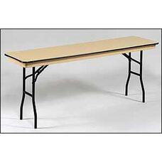 NLW Series Lightweight Standard Seminar Plastic Folding Table - 18