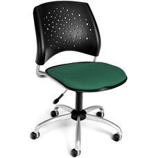 Stars Swivel Chair - Shamrock Green