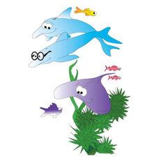 Sea Life Wall Sticker - 48