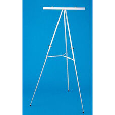 Aluminum Flipchart Easel with Spring Loaded Clamp - 34