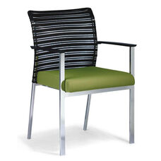 Zip Mesh Back Side Chair