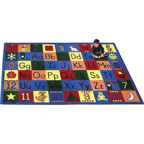Our Around The Block Rug is on sale now.