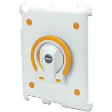 MultiStand for iPad 2 - White Shell with White and Orange Ring