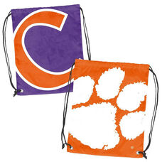 Clemson University Team Logo Doubleheader Drawstring Backsack