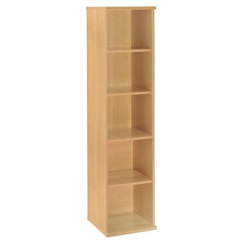 Series C Open Single Bookcase - Light Oak