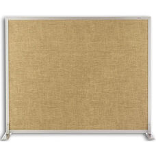 Vinyl and Cork Tackable Space Divider - 48