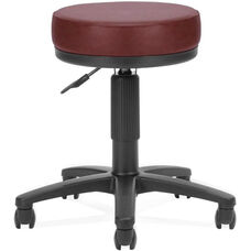 Anti-Microbial and Anti-Bacterial Vinyl UtiliStool - Wine