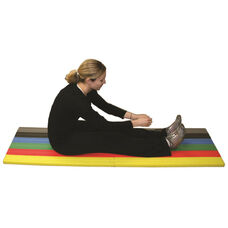 CanDo Adult Sized Cushy-Air Multi-Colored Mat - 17
