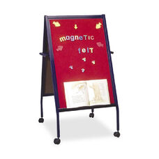 Balt Magnetic Red Flannel Surface Easel