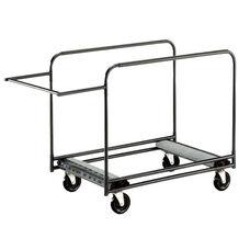Heavy Duty Rectangular/Serpentine Edge Table Caddy - 31.25''W x 61''L x 34.25''H