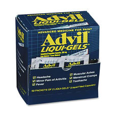 Acme United Corporation Advil Liquid-Gels Single Packets