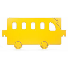 Yellow Melamine Room Divider Bus Panel